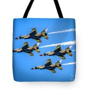 Air Force Thunderbirds Tote Bag