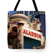 Aladdin Hotel Casino Tote Bag