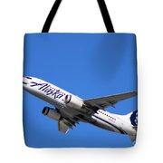 Alaska Airlines 737-800 Tote Bag