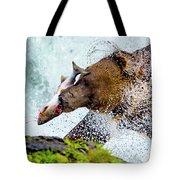 Alaska Brown Bear Tote Bag