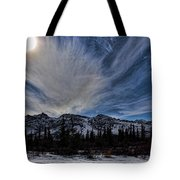 Alaska Mountains Tote Bag
