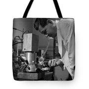 Albert Ghiorso, American Nuclear Chemist Tote Bag