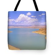 Albiquiu Reservoir, Route 84, New Mexico Tote Bag