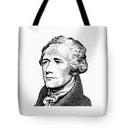 Alexander Hamilton - Founding Father Graphic  Tote Bag