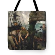 All Hands To The Pumps Tote Bag