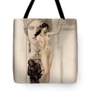 Allegory Of Sculpture Tote Bag