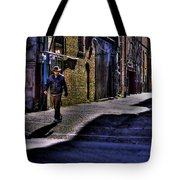 Alley Stroll Tote Bag