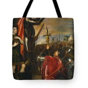 Allocution Of Marquis Del Vasto To His Troops Tote Bag