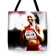Allyson Felix Tote Bag