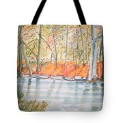 Along The Wissahickon Tote Bag