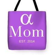 Alpha Mom Tote Bag