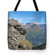 Alps Mountain Landscape  Tote Bag