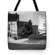 Alton Street In Black And White  Tote Bag