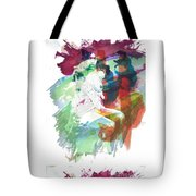 Amani African American Nude Fine Art Painting Print 4974.03 Tote Bag