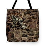 Amazing Optical Illusion - Can You Find The Giraffe Tote Bag