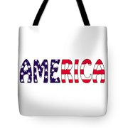 America Stars And Stripes Tote Bag