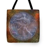 American Silver Eagle Dollar Tote Bag