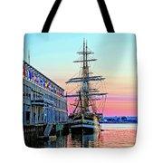 Amerigo Vespucci Tall Ship Tote Bag