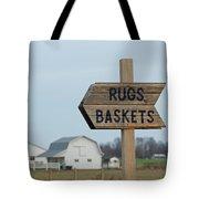 Amish Sign Tote Bag