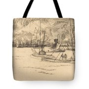 Amsterdam From The Tolhuis Tote Bag