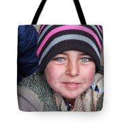 an Afghan child Tote Bag