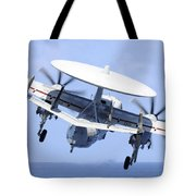 An E-2c Hawkeye Launches Tote Bag