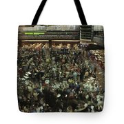 An Elevated View Of Traders Tote Bag