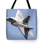 An F-22a Raptor Of The U.s. Air Force Tote Bag