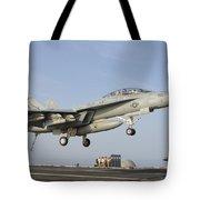 An Fa-18e Super Hornet Makes An Tote Bag