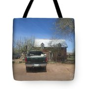 An Historical Concho House Tote Bag