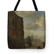 An Imaginary View Of Nijenrode Castle Tote Bag