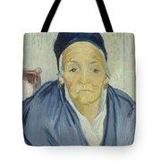An Old Woman Of Arles Arles, February 1888 Vincent Van Gogh 1853 - 1890 Tote Bag