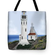 Anacapa Lighthouse California Tote Bag