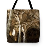 Lisbon Cathedral's Ancient Arches  Tote Bag