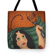 Ancient Music Tote Bag