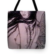 A Feather In The Wind Tote Bag