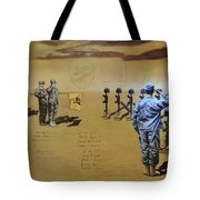 Angels Of The Sand Tote Bag