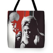 Angie Dickinson Young Billy Young 4 Old Tucson Arizona 1968-2014 Tote Bag