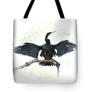 Anhinga Bird Tote Bag