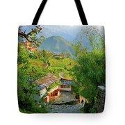 Annapurna Village Tote Bag