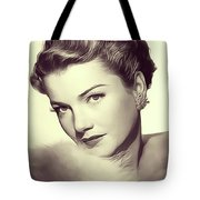 Anne Baxter, Vintage Actress Tote Bag