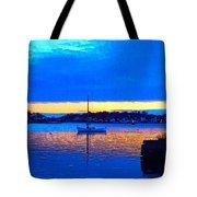 Annisquam Winter Twilight II Tote Bag
