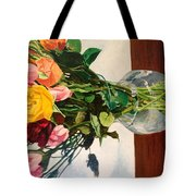 Anniversary Flowers  Tote Bag