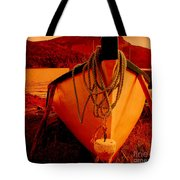 Antique Bow And Rope Tote Bag