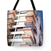 Apartment Building Tote Bag