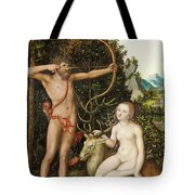 Apollo And Diana Tote Bag