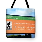 Appalachian National Scenic Trail Tote Bag