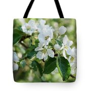 Apple Flowers Tote Bag