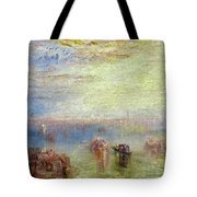 Approach To Venice Tote Bag