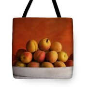 Apricot Delight Tote Bag by Priska Wettstein